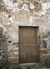 Fototapeta na wymiar Aged lock door