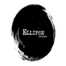 Ellipse Shape . Grunge Style ....