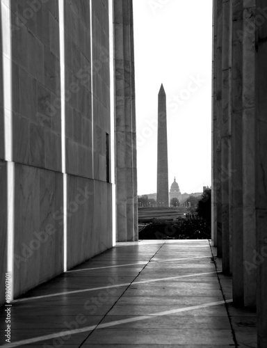 Fotografia  Washington Lincoln