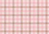 ガンクラブチェック-ピンクと茶色 - 193008144