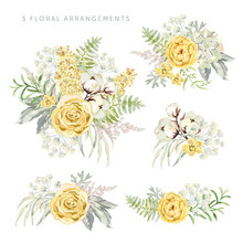 Arrangements With Yellow Flowe...