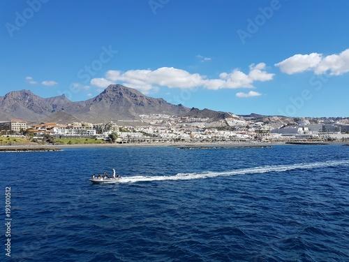 Fototapety, obrazy: Jetski im Meer auf Teneriffa