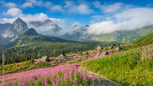 Obraz Tatra mountains landscape - fototapety do salonu