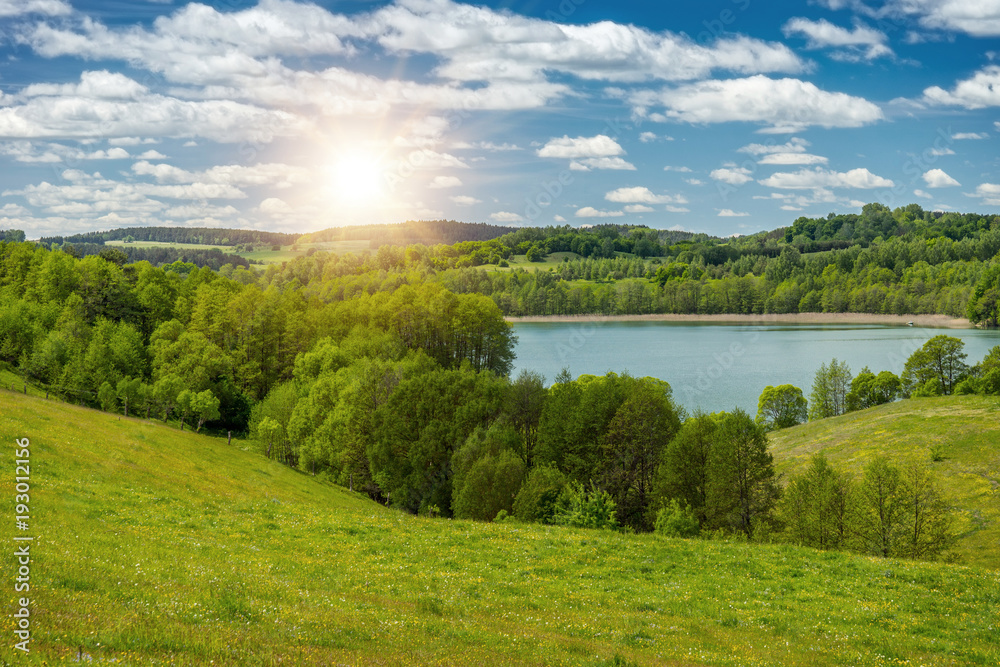Fototapeta Spring landscape - obraz na płótnie