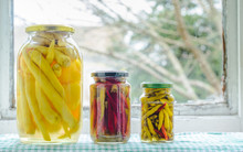 Homemade Tasty Pickled Peppers...