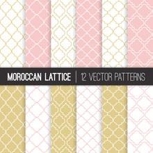 Moroccan Lattice Patterns In P...