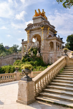 The Famous Parc De La Ciutadella Or Citadel Park Is A Park On The Northeastern Edge Of Ciutat Vella, Barcelona, Catalonia.