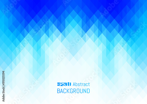 Abstract background in the polygonal style. Geometric texture. Wallpaper Mural