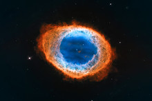 Ring Nebula, Messier 57 Elemen...