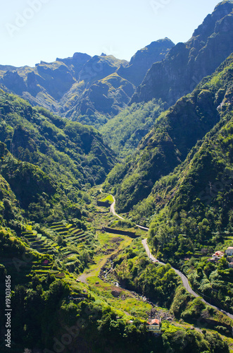 Valokuva Serra de Agua valley on Madeira island, Portugal