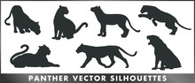 Panther Vector Silhouettes