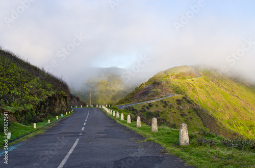 Fotografía  Road on Paul da Serra plateau, Madeira, Portugal