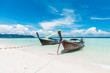 Longtale boat at Poda island, Krabi Thailand