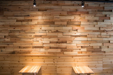 Planks Brown Wooden Panel Wall...
