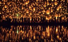 Yi Peng Festival, Chiang Mai, ...