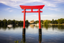 The Japanese Torii In The Plan...