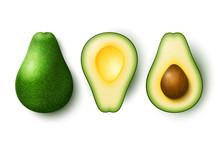 Vector Realistic Fresh Fruit A...