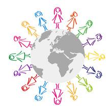 Frauen Rund Um Die Welt