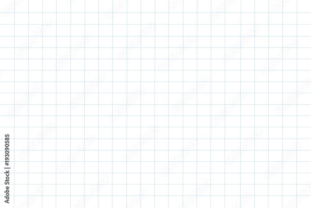 Fototapety, obrazy: grid paper pattern background vector illustration