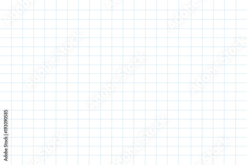 Fotografía  grid paper pattern background vector illustration