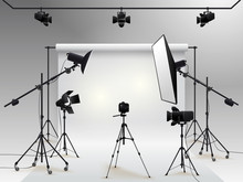 Photography Studio Vector. Pho...