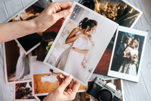 Printed Wedding Photos With Th...