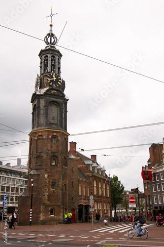 Photo  Munttoren, Amsterdam, Niederlande