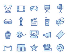 Cinema Vector Icon Set