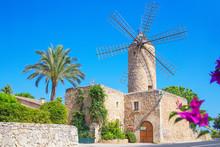 Windmill, Sineu, Majorca, Bale...