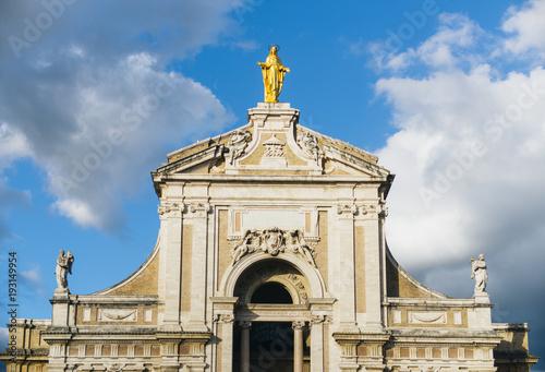 Valokuvatapetti Basilica of Santa Maria degli Angeli, Assisi, Perugia District, Umbria, Italy, Europe
