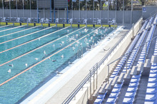 The Outdoor Swimming Pool With...