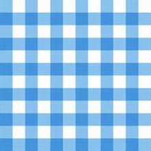 Vector Linen Gingham Checkered...