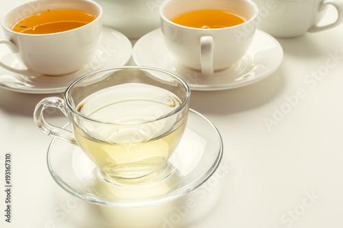 Staande foto Thee Tea Time. Tea Background