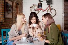 Group Of Female Friends Having...