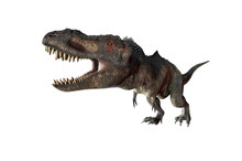 3D Illustration Of A Dinosaur ...