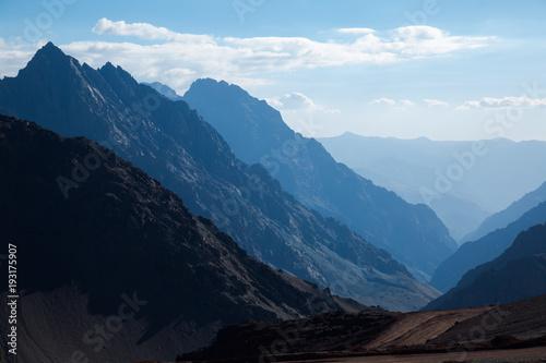 Fotografía  Mountain pass (Paso Los Libertadores), Argentina, Chile