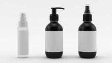 Cosmetics Cream Bottle, Shampo...