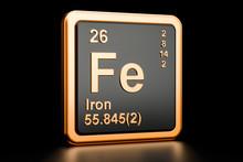 Ferrum Iron Fe Chemical Elemen...