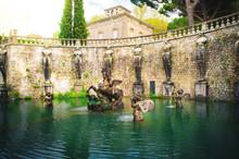 Pegasus Fountain Of Villa Lant...