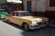 Wunderschöner uralter Oldtimer auf Kuba (Karabik)