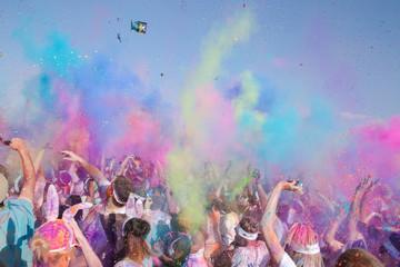 Obraz na płótnie Canvas colour burst