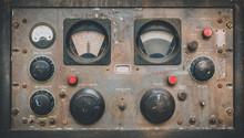 Antique Control Panel