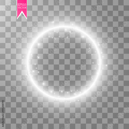 Fotografía  Vector light ring