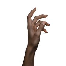 African American Black Hand Ge...