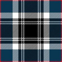 Blue Tartan Plaid Scottish Pattern