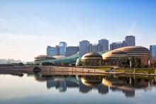 Zhengzhou CBD Convention And Exhibition Center Panorama