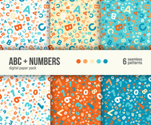 ABC And Math Background For Ki...