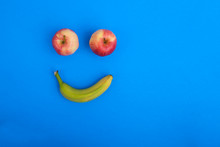 Smiling Face Made Of Fruit App...