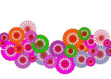 Bouquet Floral,multicolore