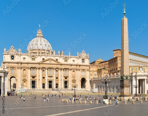 The Basilica of Saint Peter at the Vatican